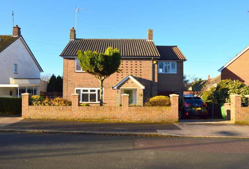 3 Bedrooms Detached House for sale in Fairford Avenue, Luton, LU2 7ES