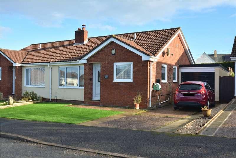 3 Bedrooms Semi Detached Bungalow for sale in Greenslade Road, Witheridge, Tiverton, Devon, EX16