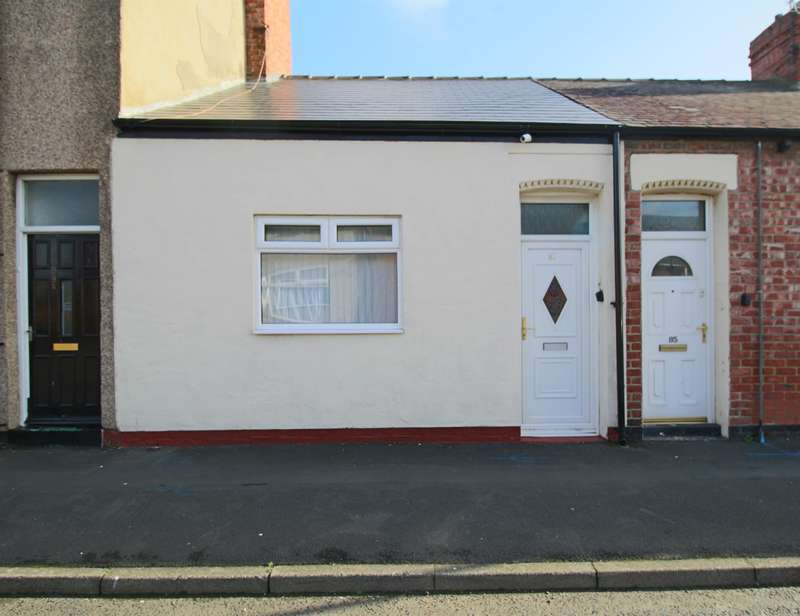 1 Bedroom Cottage House for sale in Edward Burdis Street, Southwick, Sunderland, SR5 2RU