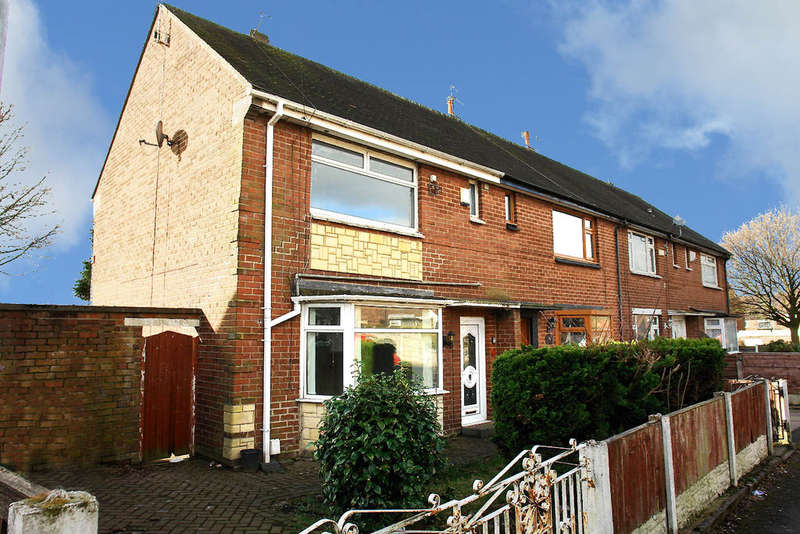 2 Bedrooms End Of Terrace House for sale in Holly Grove, Chadderton, Oldham