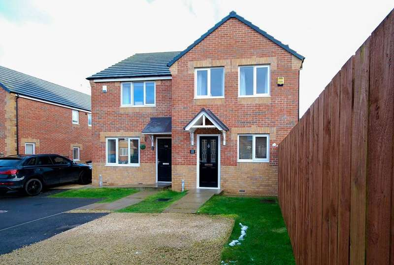 3 Bedrooms Semi Detached House for sale in Charles Street, Boldon Colliery