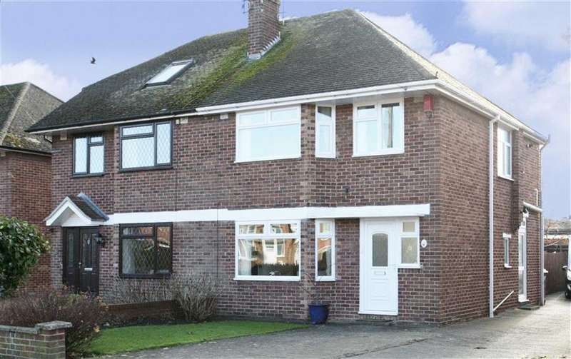 3 Bedrooms Semi Detached House for sale in Grimsbury Drive, Banbury
