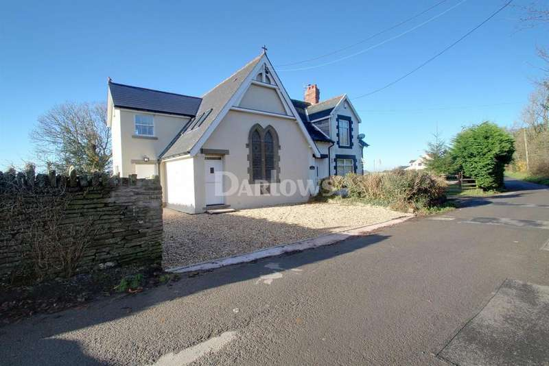 3 Bedrooms Semi Detached House for sale in Llanfabon, Nelson