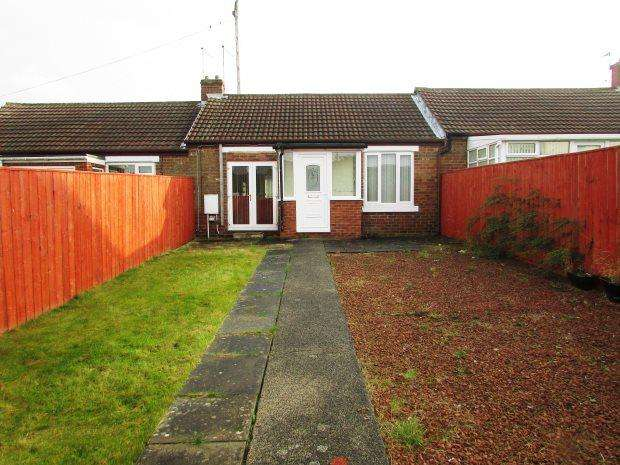 2 Bedrooms Terraced Bungalow for rent in BETHUNE AVENUE, SEAHAM, SEAHAM DISTRICT