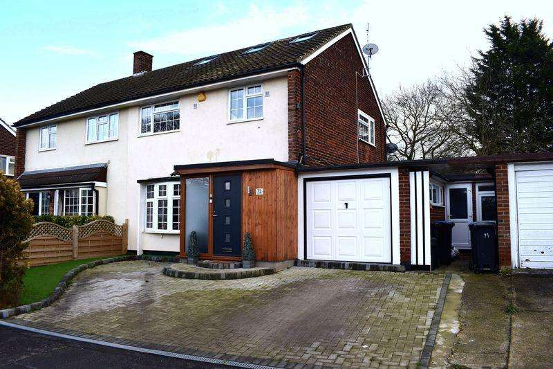 4 Bedrooms Semi Detached House for sale in Chapel Fields, Harlow