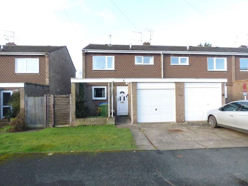 3 Bedrooms End Of Terrace House for sale in Sanctus Drive, Stratford-Upon-Avon