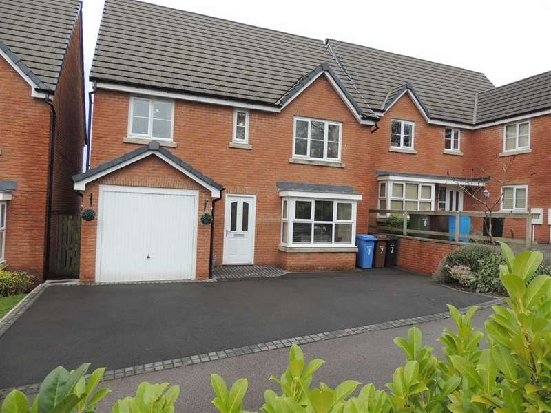 5 Bedrooms Detached House for sale in Nightingale Close, Offerton, Stockport