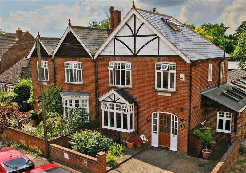 4 Bedrooms Semi Detached House for sale in Pondcroft Road, Knebworth SG3 6DB