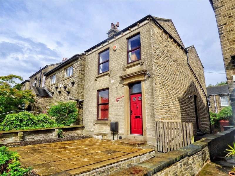 3 Bedrooms Detached House for sale in New Hey Road, Huddersfield, West Yorkshire, HD3