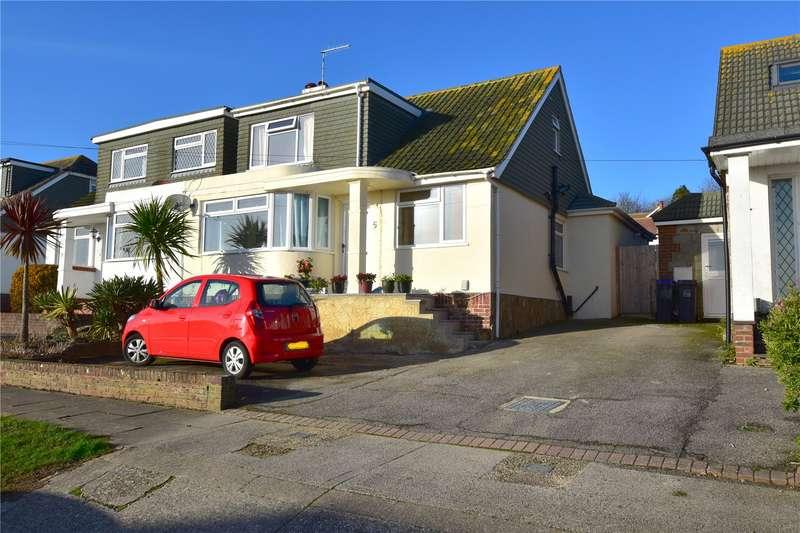 4 Bedrooms Semi Detached House for sale in Derek Road, North Lancing, West Sussex, BN15