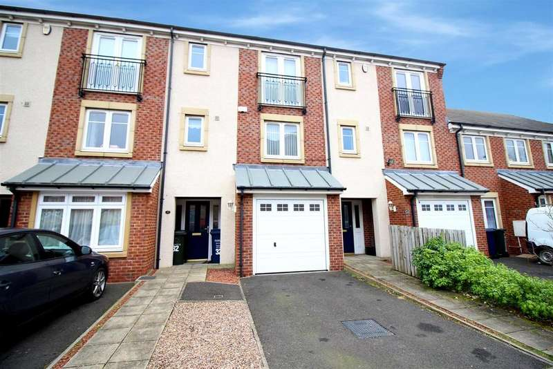 4 Bedrooms Town House for rent in Manor Park, High Heaton, Newcastle upon Tyne