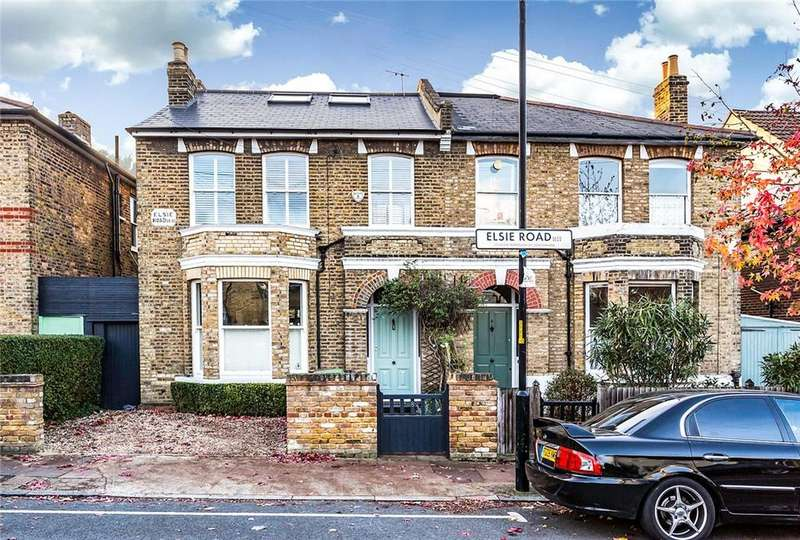 5 Bedrooms Semi Detached House for sale in Elsie Road, East Dulwich, London, SE22