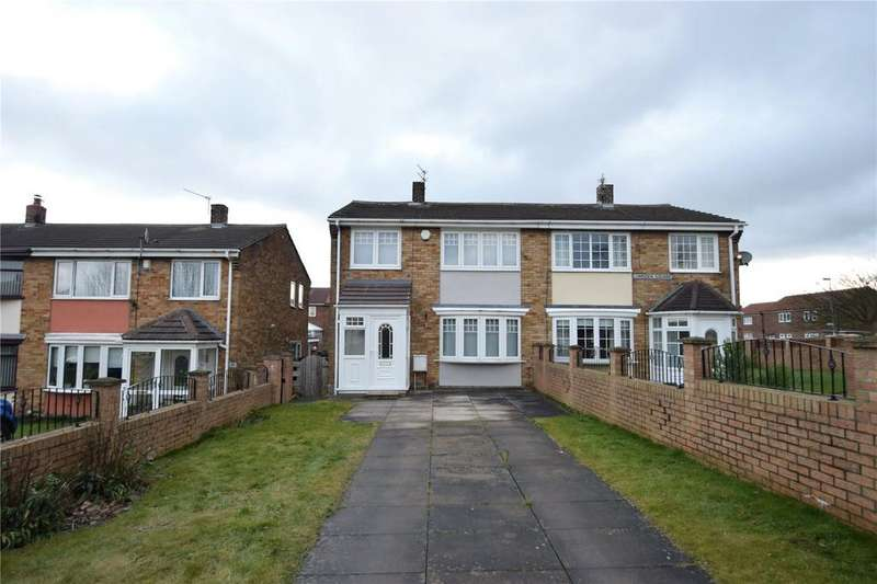 3 Bedrooms Semi Detached House for sale in Lumsden Square, Murton, Seaham, Co.Durham, SR7