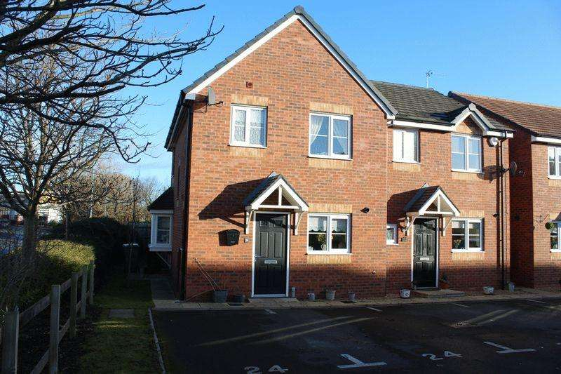 3 Bedrooms Semi Detached House for sale in Asquith Close, Autumn Brook, Shrewsbury, SY1 4NW