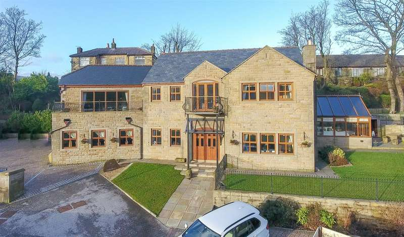 5 Bedrooms Detached House for sale in Worswick Green, Rawtenstall, Rossendale