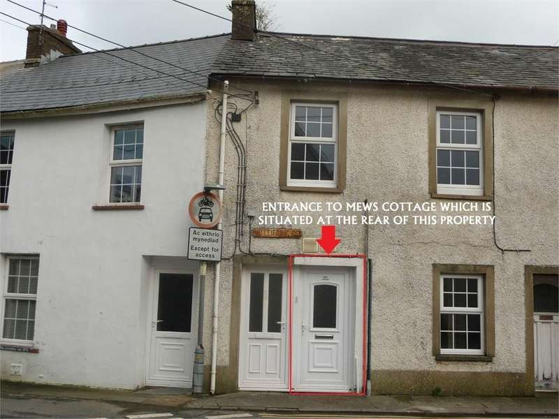 3 Bedrooms Cottage House for sale in Mews Cottage, 1 Hottipass Street, Fishguard, Pembrokeshire
