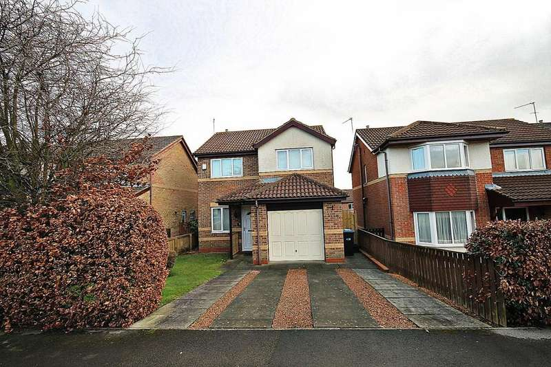 3 Bedrooms Detached House for sale in Priory Gardens, Willington, Crook