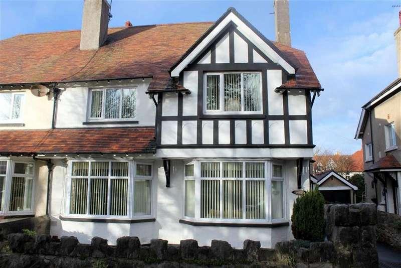 4 Bedrooms Semi Detached House for sale in Park Avenue, Craig Y Don, Llandudno, Conwy