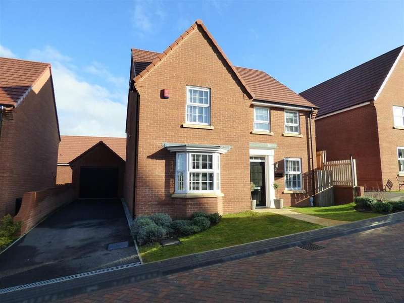 4 Bedrooms Detached House for sale in Foxglove Way, Beverley, East Yorkshire, HU17 7SQ