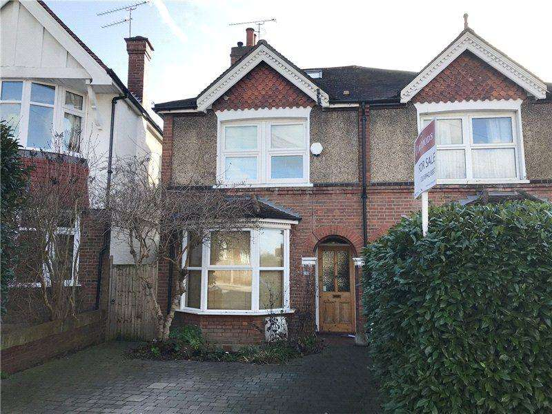 4 Bedrooms Semi Detached House for sale in Coombe Gardens, New Malden, Surrey, KT3