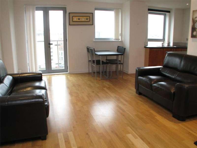 2 Bedrooms Flat for rent in Santorini, City Island, Gotts Road, Leeds, LS12