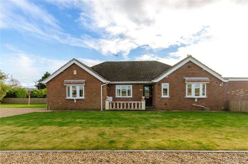 3 Bedrooms Detached Bungalow for sale in Pointon Road, Billingborough, Sleaford, NG34