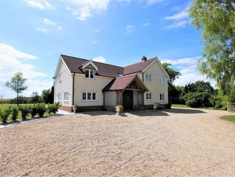 4 Bedrooms Detached House for sale in Highlands, Offton, Ipswich, Suffolk, IP8 4RS