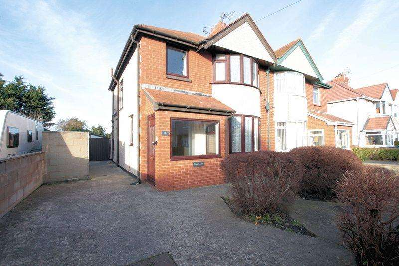 3 Bedrooms Semi Detached House for sale in Handsworth Crescent, Rhyl