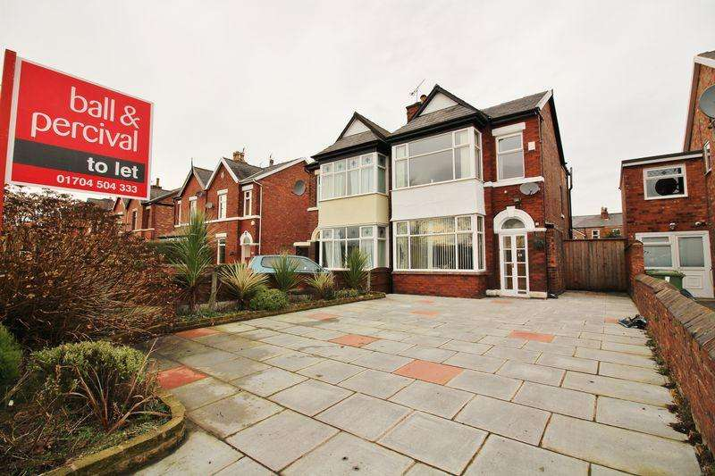 2 Bedrooms Semi Detached House for rent in Athole Grove, Southport