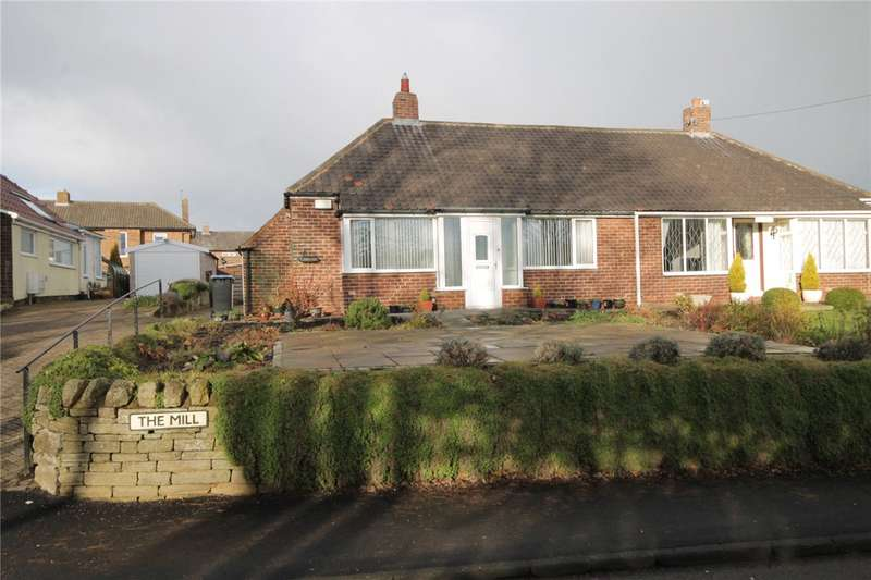 2 Bedrooms Semi Detached Bungalow for sale in The Mill, Lanchester, Durham, DH7