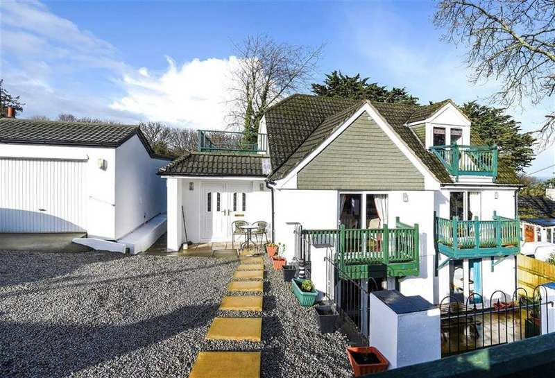 4 Bedrooms Detached House for sale in Boskerris Road, Carbis Bay, St Ives, Cornwall, TR26