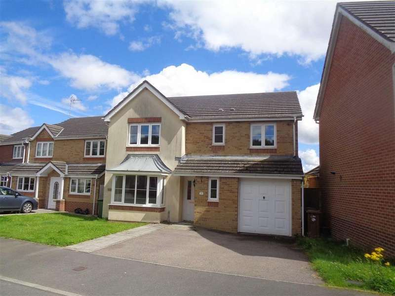 4 Bedrooms Detached House for sale in Sword Hill, Caerphilly