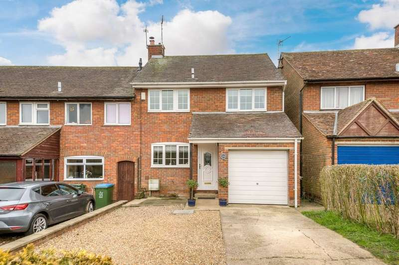 3 Bedrooms End Of Terrace House for sale in Addison Road, Steeple Claydon, Buckingham