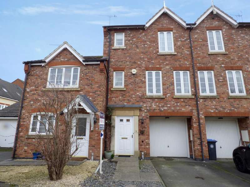 3 Bedrooms Town House for sale in Railway Crescent, Shipston-On-Stour