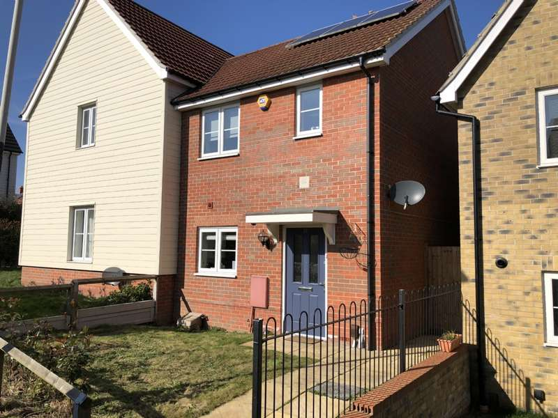 2 Bedrooms Semi Detached House for sale in Le Noke Avenue, Harold Hill