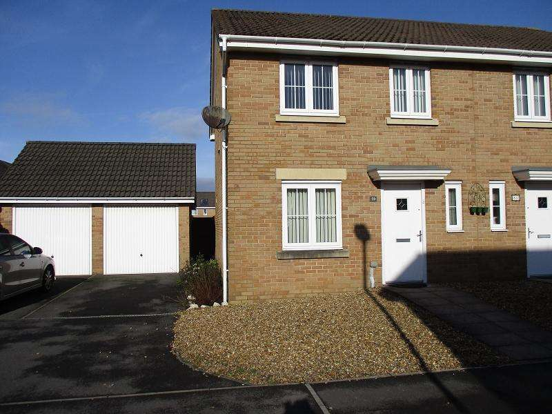 3 Bedrooms Semi Detached House for sale in Abbottsmoor , Port Talbot, Neath Port Talbot.