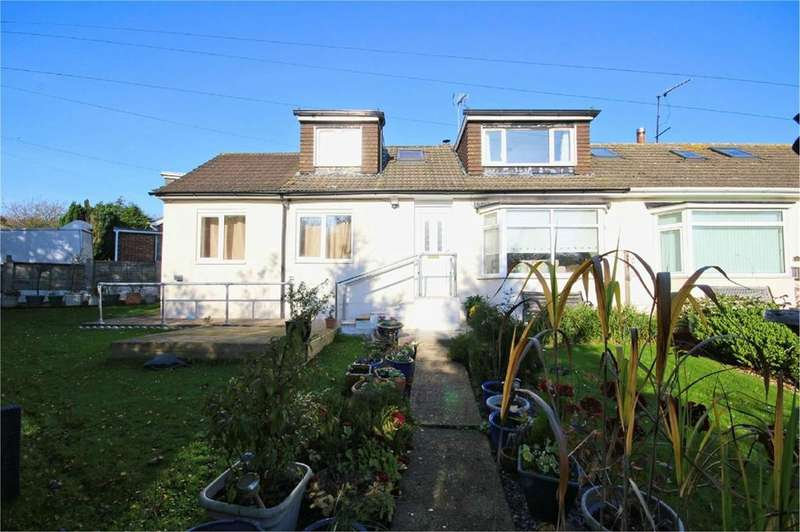2 Bedrooms Semi Detached Bungalow for sale in The Butts, Little Weighton, Cottingham, HU20