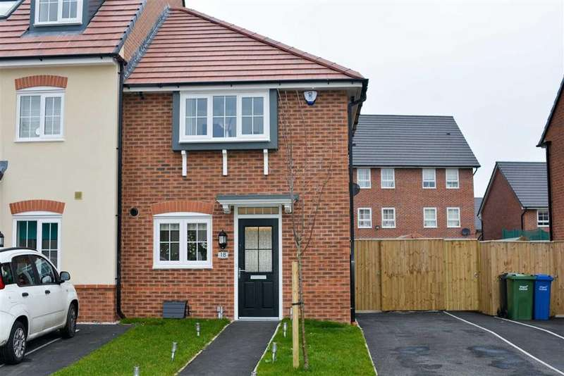 3 Bedrooms Mews House for sale in Hulme Grove, Highfield, Wigan, WN3