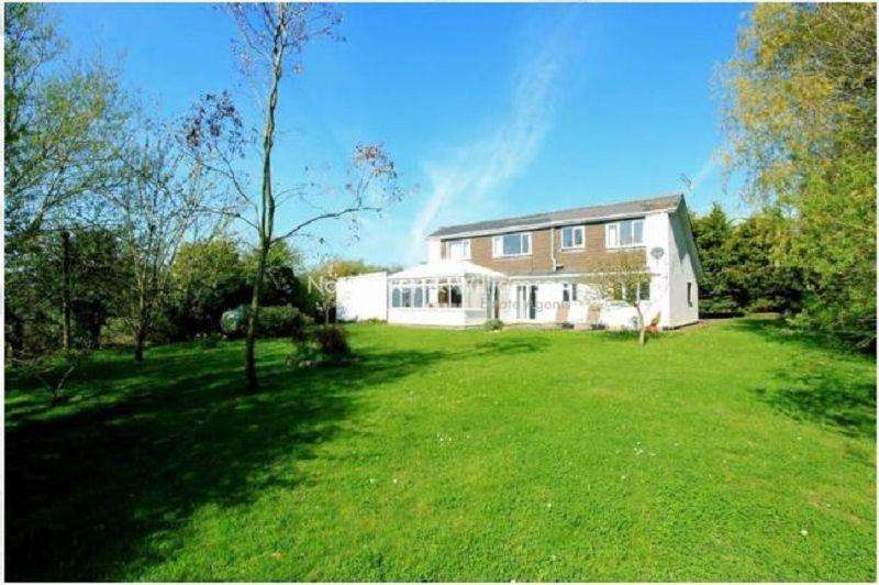 4 Bedrooms Detached House for sale in Broad Street Common, Peterstone Wentlooge, Cardiff. CF3