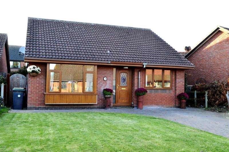 3 Bedrooms Detached Bungalow for sale in Old School Drive, Hibaldstow, Brigg, North Lincolnshire, DN20