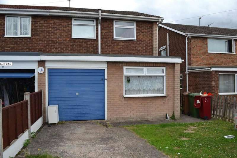 3 Bedrooms Semi Detached House for rent in Byfield Road, Scunthorpe, North Lincolnshire, DN17