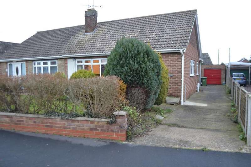 2 Bedrooms Semi Detached Bungalow for sale in Gravel Pit Road, Scotter, Gainsborough, Lincolnshire, DN21