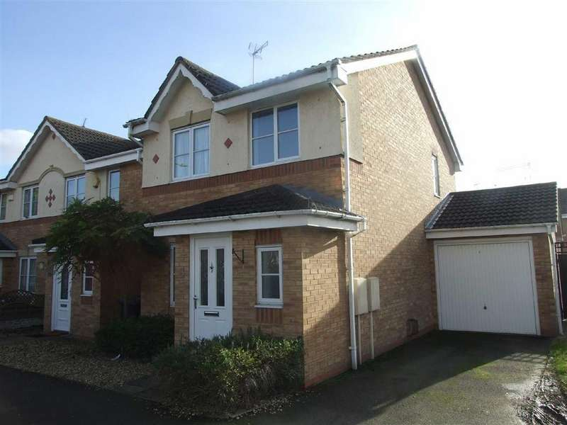 3 Bedrooms Detached House for sale in Canalside, Longford