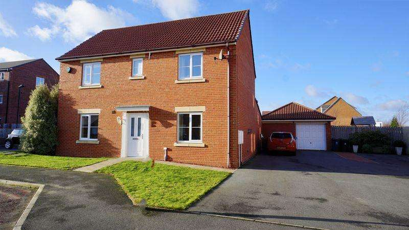 4 Bedrooms Detached House for sale in Dukesfield Shiremoor