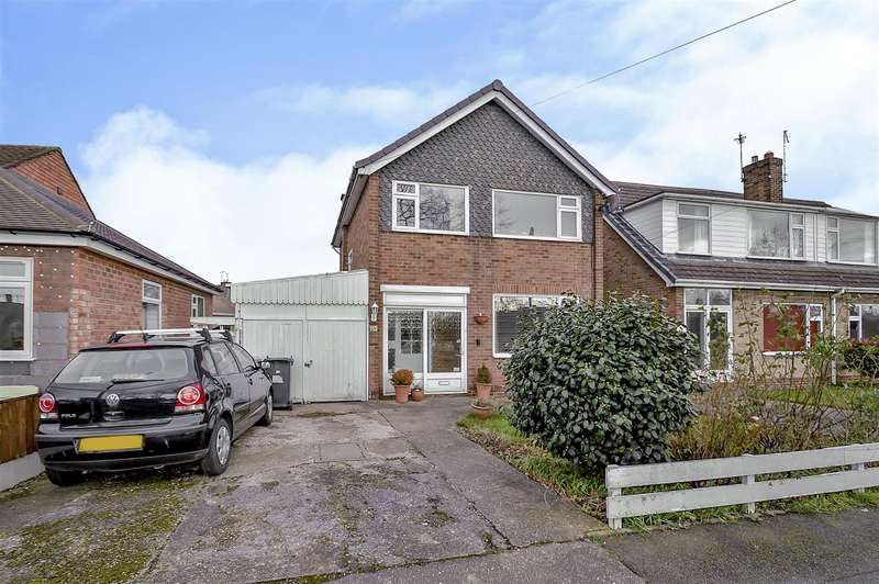 3 Bedrooms Detached House for sale in Wyvern Avenue, Long Eaton