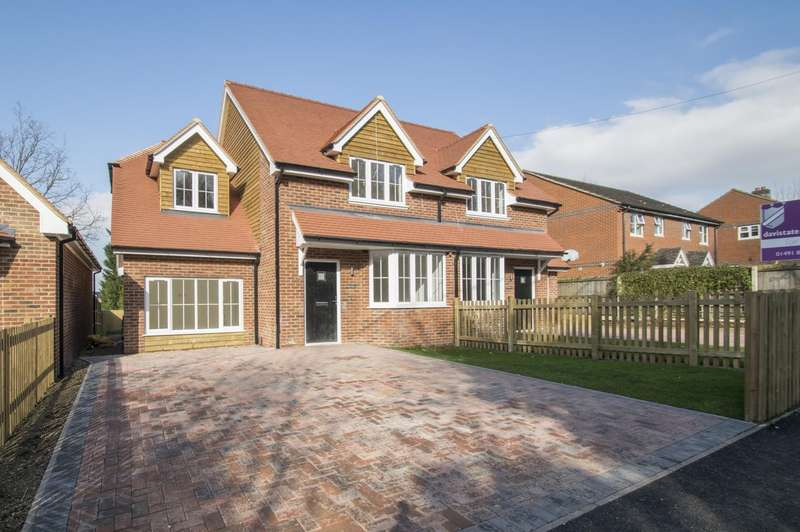 3 Bedrooms Semi Detached House for sale in Greenmore, Woodcote, Reading, RG8