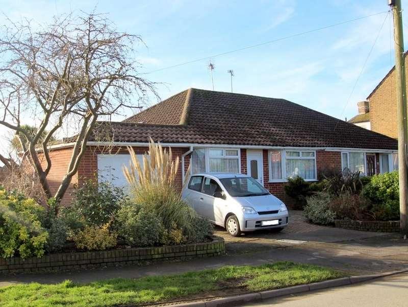 2 Bedrooms Semi Detached Bungalow for sale in Mill Lane, Littlehampton