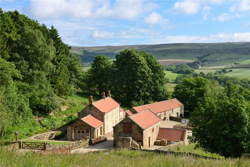 4 Bedrooms Detached House for sale in Hall House, Thorgill, Pickering, North Yorkshire, YO18