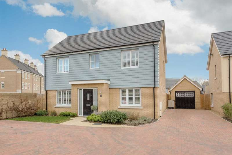 4 Bedrooms Detached House for sale in Holmes Meadow, Redhouse Park