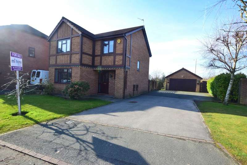 4 Bedrooms Detached House for sale in Medlar Close, Wesham